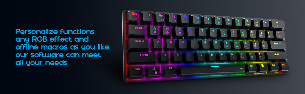 Personalize Functions,Any RGB Effect and Offline Macros